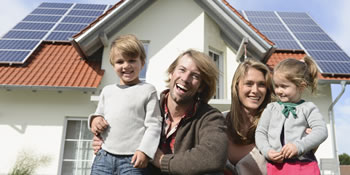 larger solar panel systems benefit families