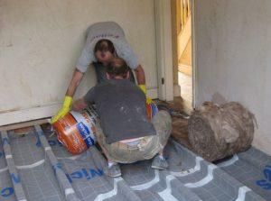 insulating underfloor